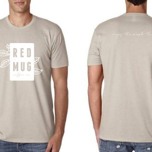 red mug shirts sand 2